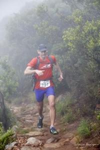 Martin Kleynhans on Devil's Peak