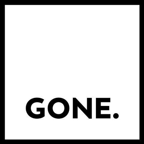 Gone logo - block logo